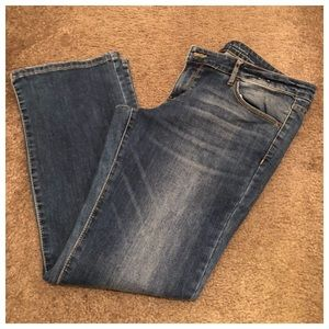 Mossimo Denim Low Rise Bootcut Jeans Size 14
